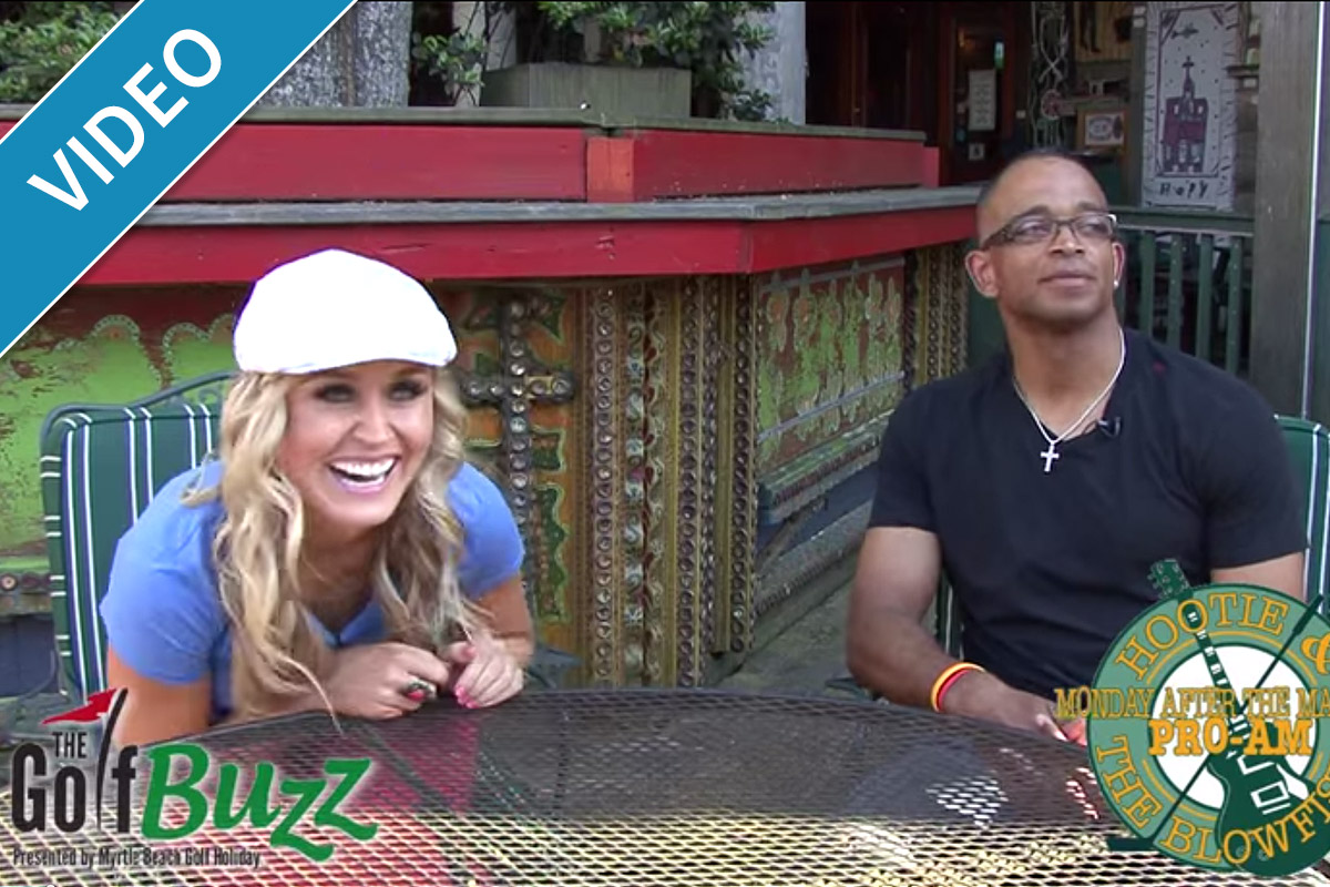 ESPN's Stuart Scott joins Blair O'Neal on The Myrtle Beach Golf Buzz